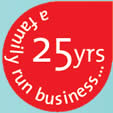 25 Years a family run business